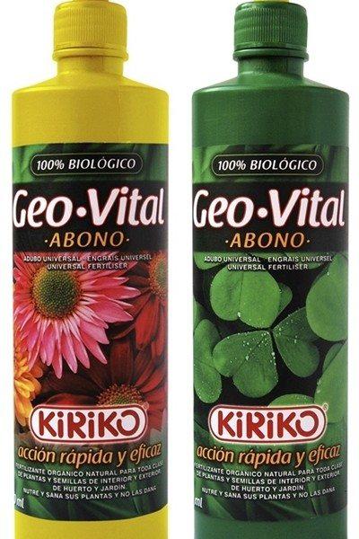 Geo-Vital : Le meilleur fertilisant pour vos plantes.