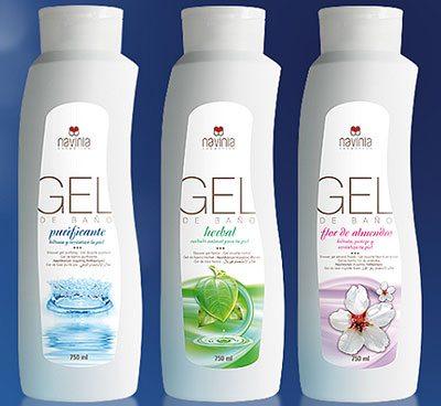La ducha diaria todo un placer con los geles de la l nea for Geles placer
