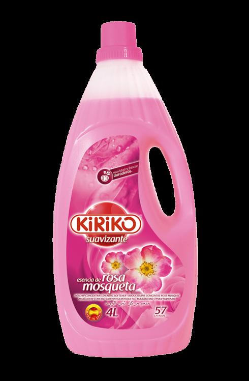野玫瑰香味柔顺剂 4000毫升